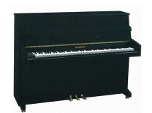 Piano droit noir brillant heineman 110 m