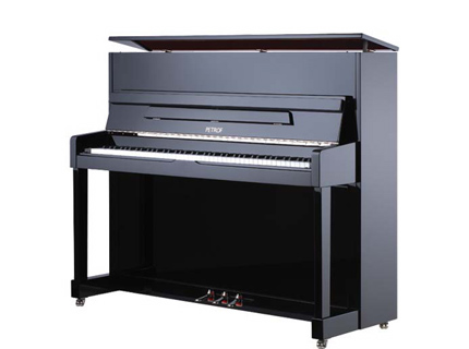 Piano droit acajou brillant petrof 118 m1