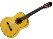 guitare Modèle flamenca