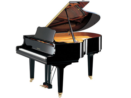 Piano queue noir brillant 1m 73 yamaha gc2pe