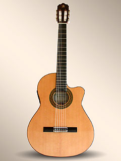 guitare Alhambra crossover CS1 CW