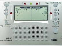 Combiné métronome et accordeur chromatique KORG TM 40