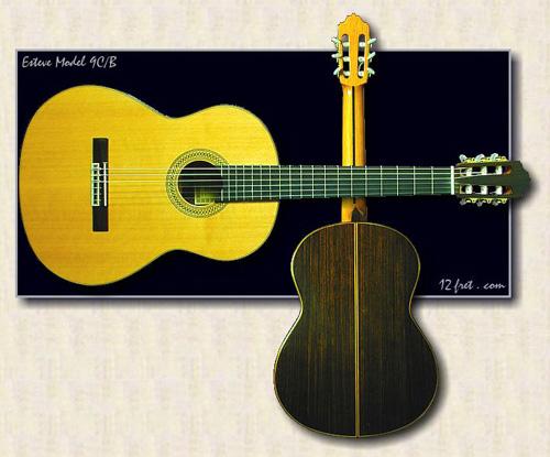 guitare Esteve 9C/B