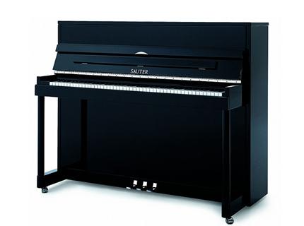 Piano droit noir brillant sauter 114