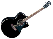 guitare electro acoustique Yamaha CPX 500