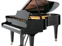 Bechstein piano 1/2 queue noir fabrication allemande