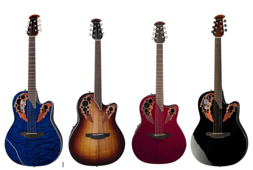 Capture guitares ovations